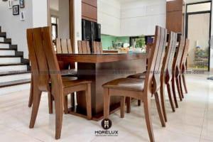 Những lưu ý khi lựa chọn mẫu bàn ăn gỗ cho gia đình