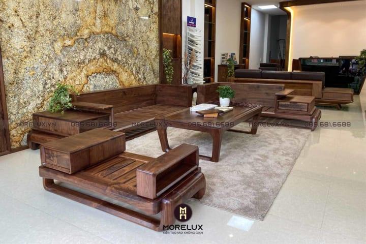 Sofa gỗ hiện đại SF38