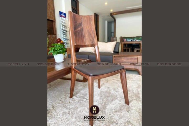 Ghế ăn gỗ tự nhiên