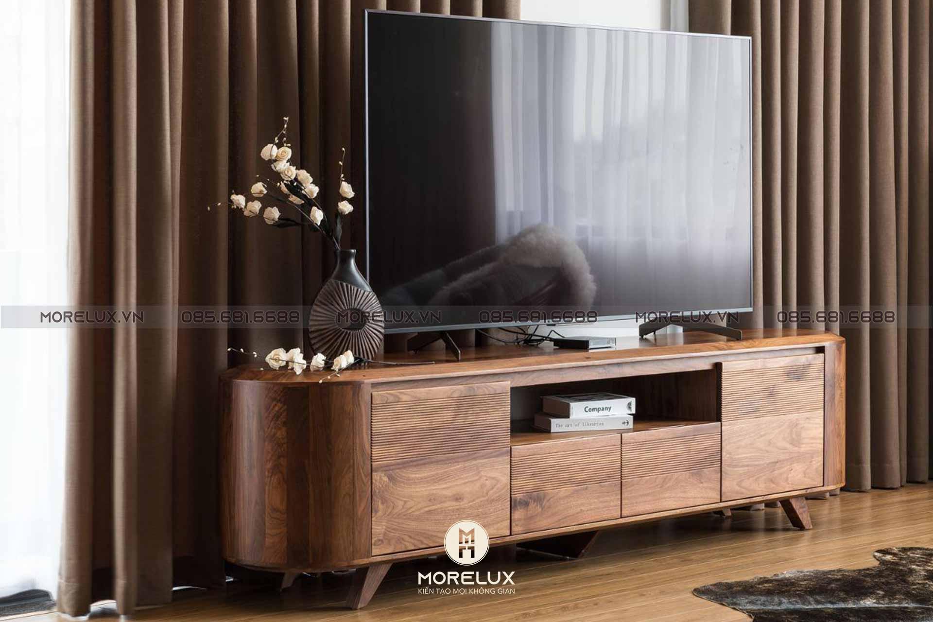 Kệ tivi gỗ cao cấp KTV02