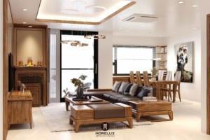Cơ sở thiết kế nội thất gỗ óc chó tại Hà Nội