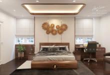 Giường ngủ gỗ óc chó GN12